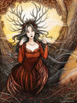 Queen of Autumn by Evanira