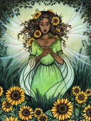 Queen of Summer by Evanira