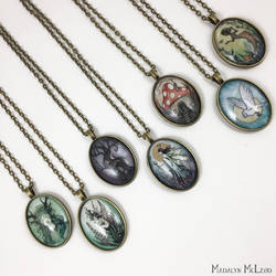 7 Pendants by Evanira