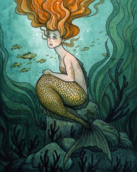 The Little Mermaid by Evanira