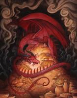 Hoarding Dragon by Evanira