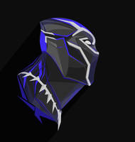 Black_Panther_PopHeadShot by KZDoesDesigns