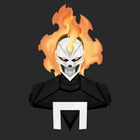 Ghost Rider [Robbie_Reyes] by KZDoesDesigns