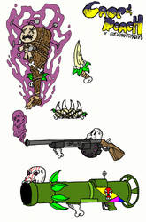 CnR Weapons by NightChills