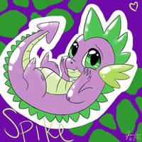Spike by DelcattyDraws
