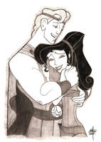 Herc and Meg by ManuSauci