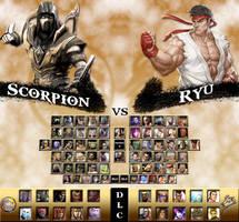 Mortal Kombat vs. Street Fighter Universe by genius-spirit