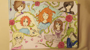 Seven Deadly Sins OC's by helene-happy
