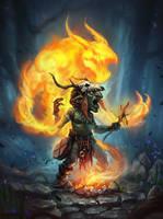 shaman by Kroy111
