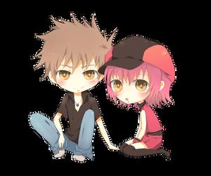 Mikki_and_Gary by Hikari-Rose-Moon