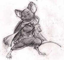 Mouse Guard RPG - Miles by blaqueandstuff