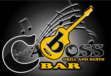 caboss bar logo by kartoonix