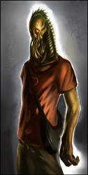Alien refugee by homeworld4