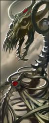 Undead dragon by homeworld4