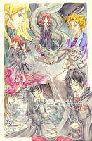 _HP:the chamber of secrets_ by Aeris1990