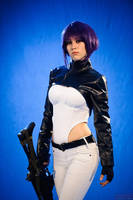 Ghost in the Shell Motoko cosplay by Gabardin
