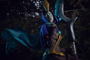 Reaper Soraka cosplay by Gabardin