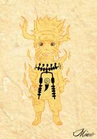 Chibi Naruto Rikudou Mode by kaiser-art