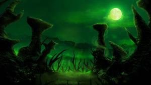 Haunted swamps by Menaria