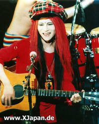 Smiling hide by JRockPrincessHikari