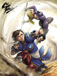 SF_x_Tekken by Agustinus