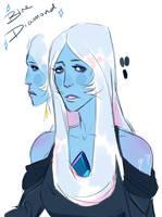 [Steven Universe] Blue Diamond by cattomato