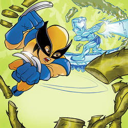 Marvel Super Hero Squad by Marcelo-Baez