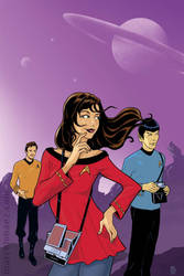 Trapped with Spock and Kirk by Marcelo-Baez