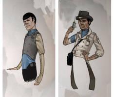 Steam Trek - Blueshirts by Liquidsilk