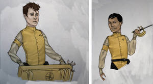 Steam Trek - Yellowshirts by Liquidsilk