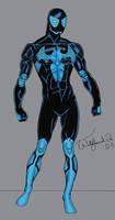 Blue Spider - Original Amalgam by Walfiend2