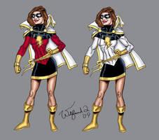 Miss Marvel - original Amalgam by Walfiend2