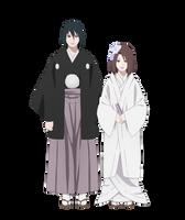 Wedding Sasuke and Yumi by Yumi-Ho
