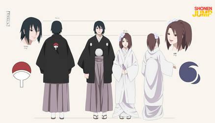 Wedding reference Sasuke and Yumi by Yumi-Ho