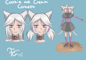 Cookie and Cream Concept by InfiniteApple
