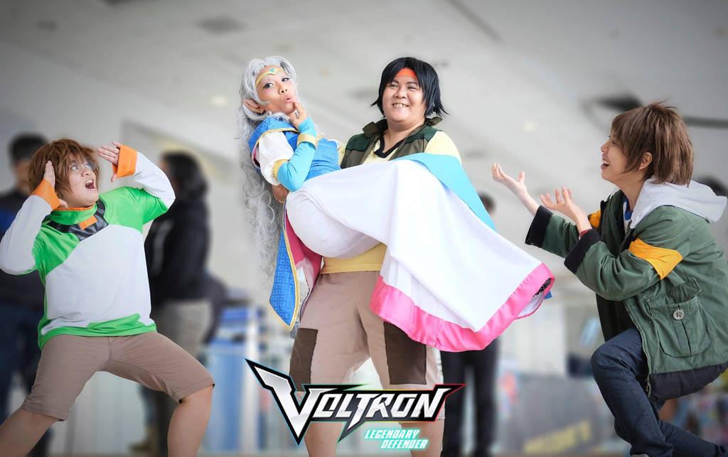 Voltron Allura And The Three Garrison By Nekomikasai On Deviantart