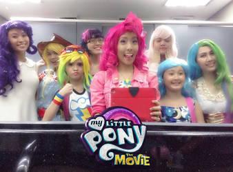 My Little Pony squad by nekomiKasai
