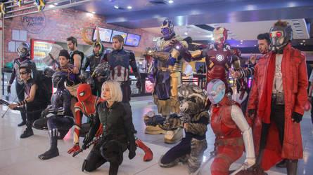 Avengers: Ready for Infinity War by nekomiKasai