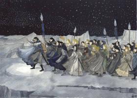 Fanart100: Winter by Qitian