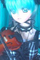 Miku Hatsune Dollfie by BowsNBears