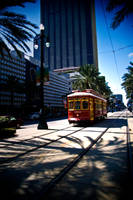 2012 Trolley on Canal Street by nprkr