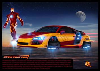 Iron Man Audi R8 - image manip by P-S-Y-K-E