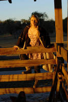 Arielle's Sunset Barn by Bonedaddybruce