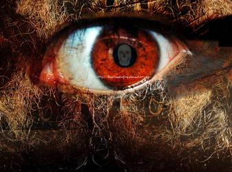 all seeing eye by BaptizedInFire