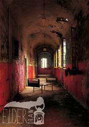 Arkham Asylum by ElderDraw