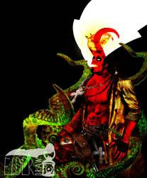 Hellboy / Anung Un Rama by ElderDraw