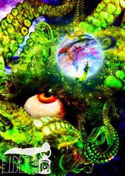 Shuma Gorath VS Doctor Strange by ElderDraw