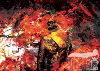 Ghost Rider by ElderDraw