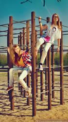 Celina and Natalia 01 by fantasmica