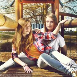 Celina and Natalia 02 by fantasmica